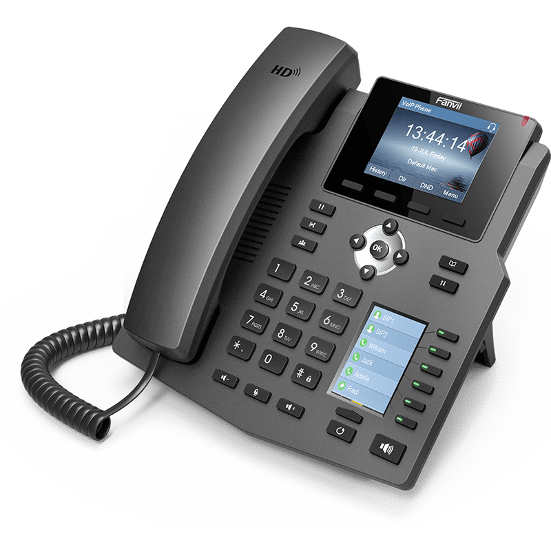Fanvil x4 [object object] - fanvil x4 - Business Phone Solutions – VoIP For Small Businesses – NZ | Cloud Edge